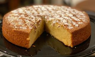 Tuscan Almond Cake