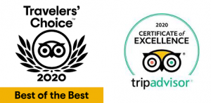 Trip Advisor 2019 Travelers' Choice
